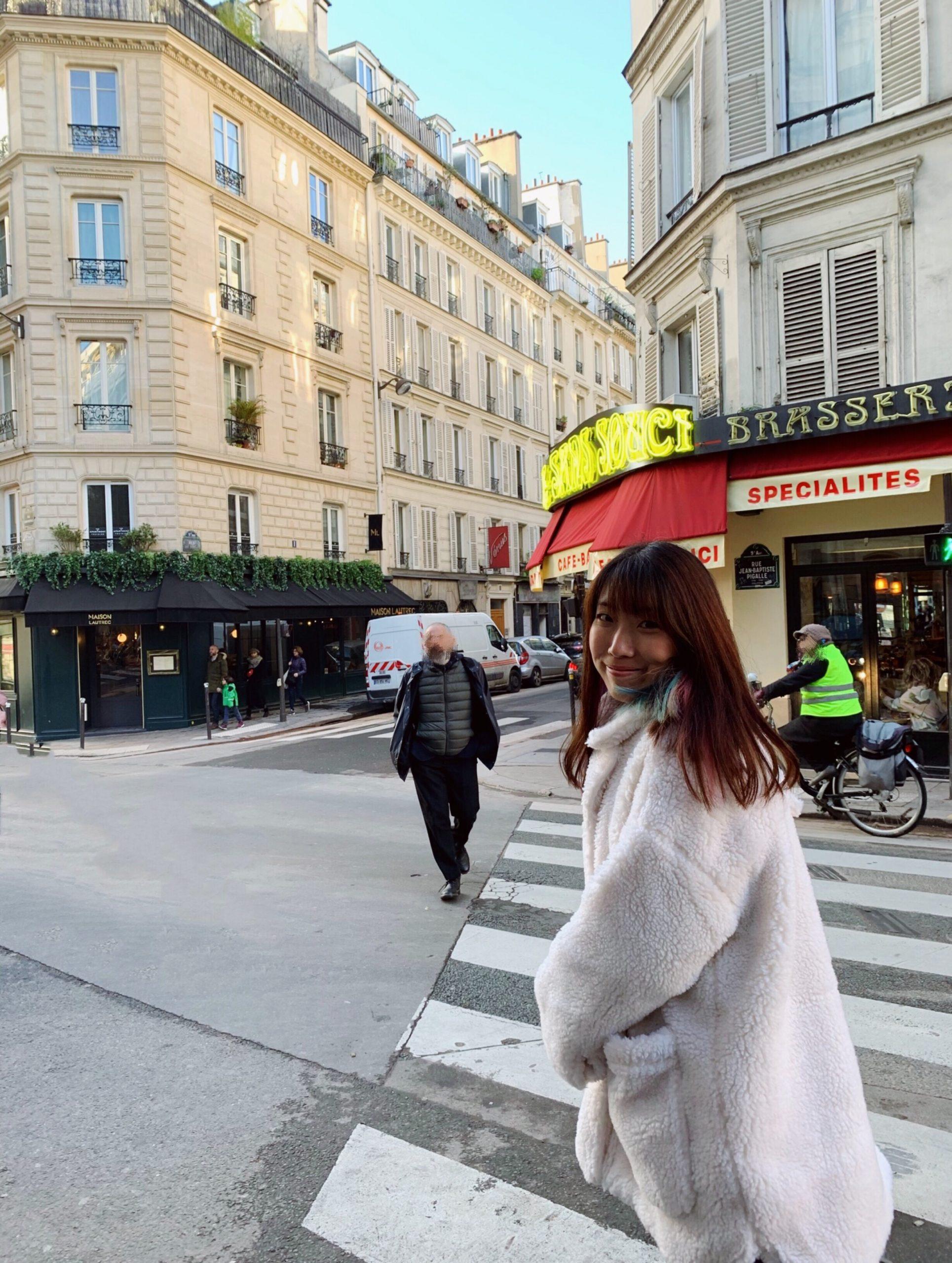 Paris travel log
